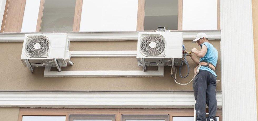 Klimatizace, ilustrační foto