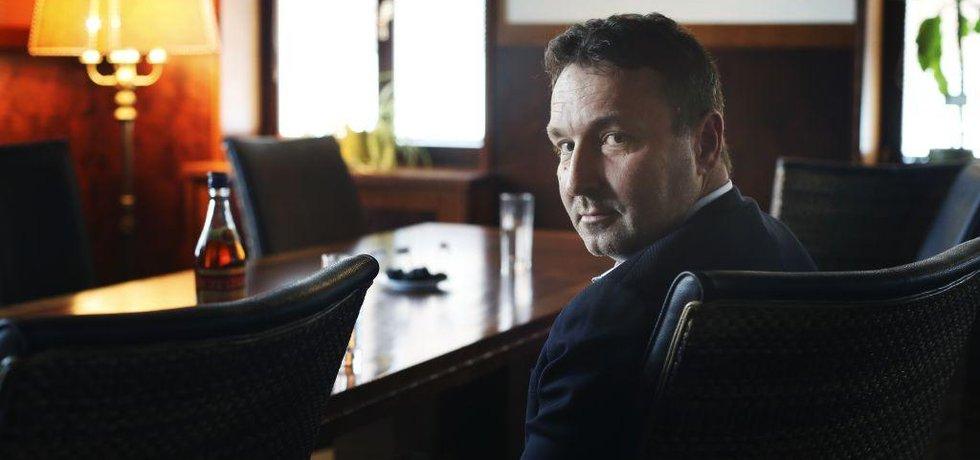 Pavel Dvořáček, šéf firmy Rudolf Jelínek
