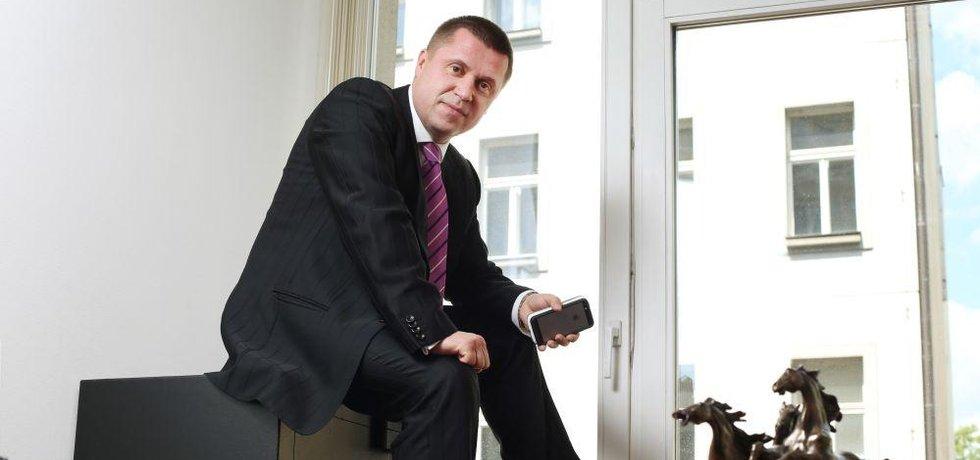 Generální ředitel ČEB Karel Bureš