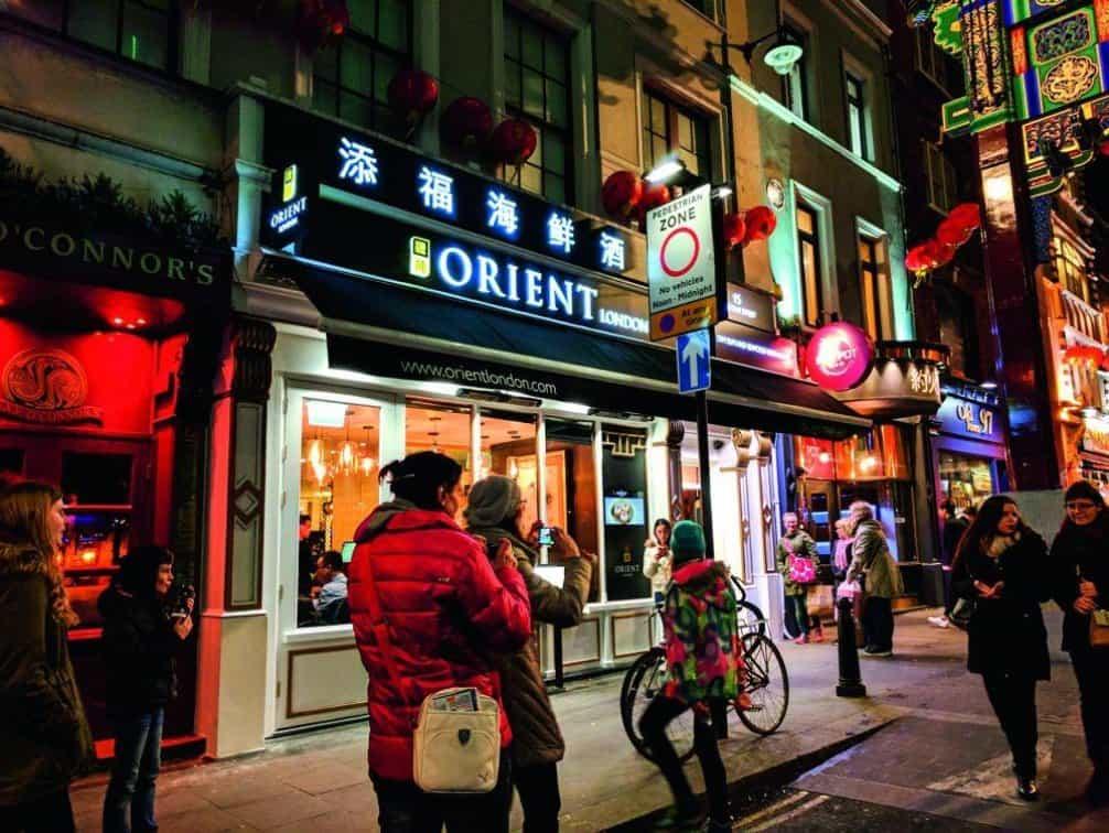 Orient London - Londýn