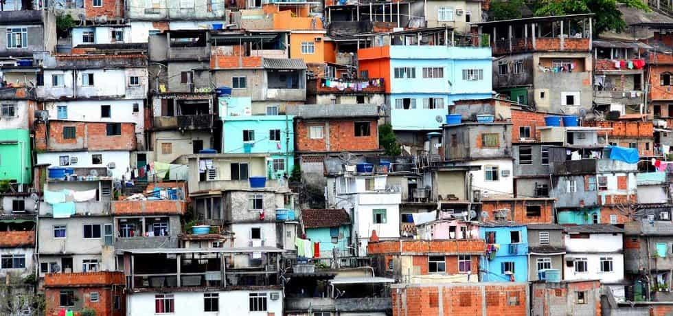 Favela v Rio de Janeiru