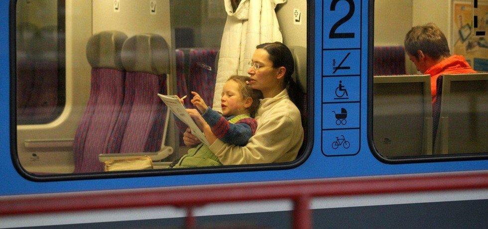 Vlak, ilustrační foto