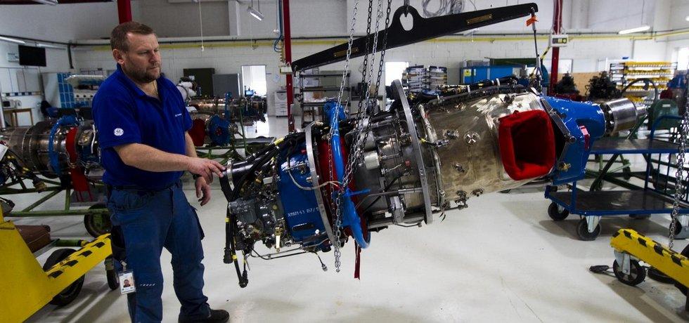 Motor H80, ilustrační foto