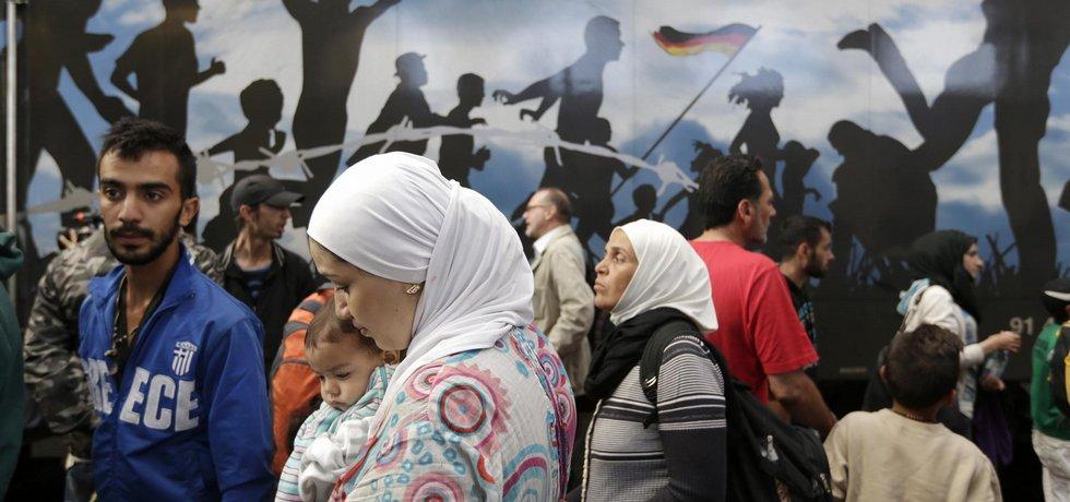 Běženci, ilustrační foto