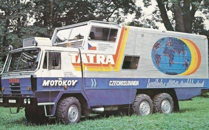 Tatra kolem světa, archivní foto