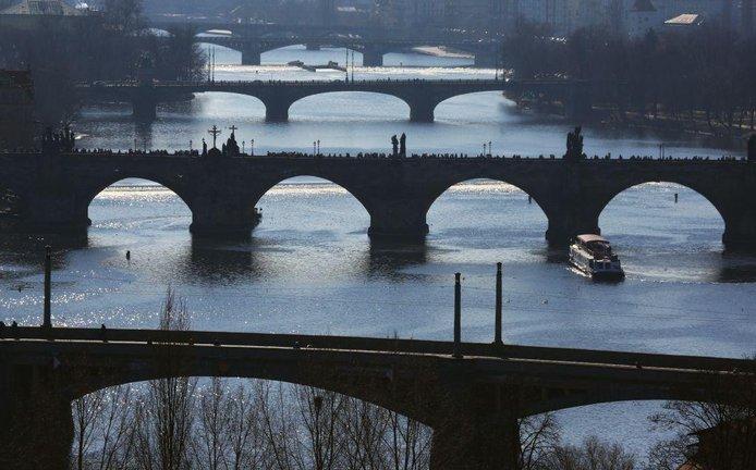 Pražské mosty, ilustrační foto