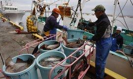Japonští rybáři, ilustrační foto