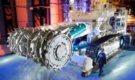 Stroj pro průzkum mořského dna.