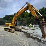 Rekonstrukce dálnice D1 u sjezdu na Jihlavu