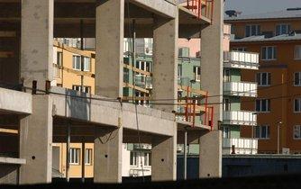 Výstavba bytů v Praze, ilustrační foto