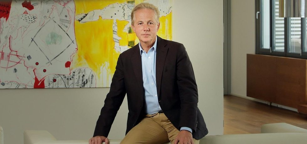 Šéf firmy Kapsch Georg Kapsch