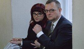 Petr Nečas a Jana Nečasová (dříve Nagyová)