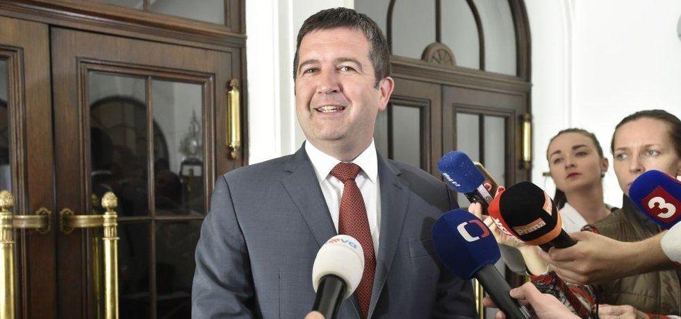 Šéf ČSSD Jan Hamáček