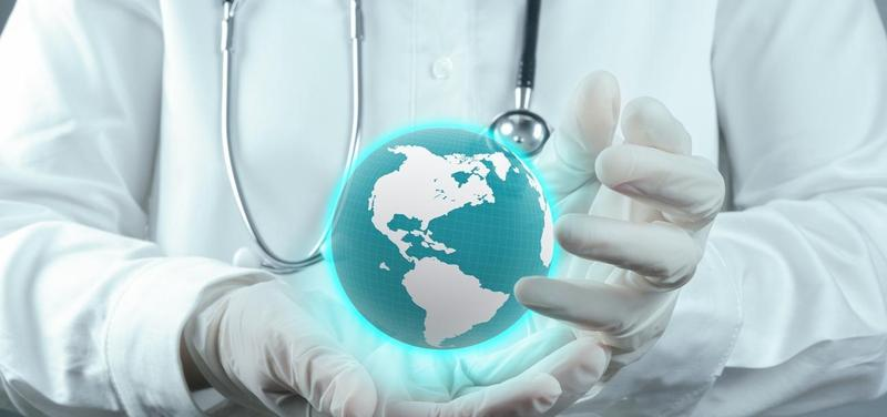 *lékař, zdravotnictví, medicína, svět, globus