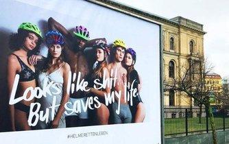 Kampaň za nošení helem