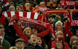 Fanoušci FC Liverpool, ilustrační foto