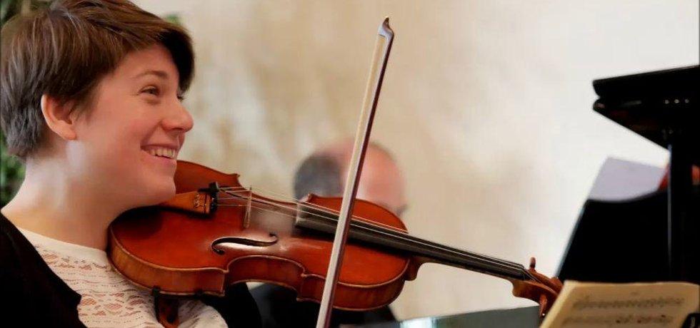 Členka kvartetu  Jana Vonášková