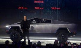 Tesla představila elektrický pickup. Bude stát 40 tisíc dolarů