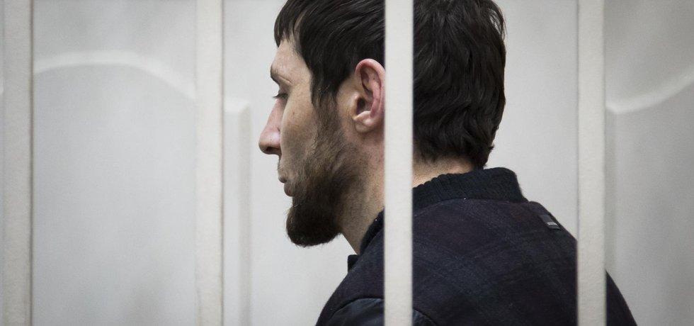 Čečenec Zaur Dadajev, usvědčený z předloňské vraždy ruského opozičního politika Borise Němcova