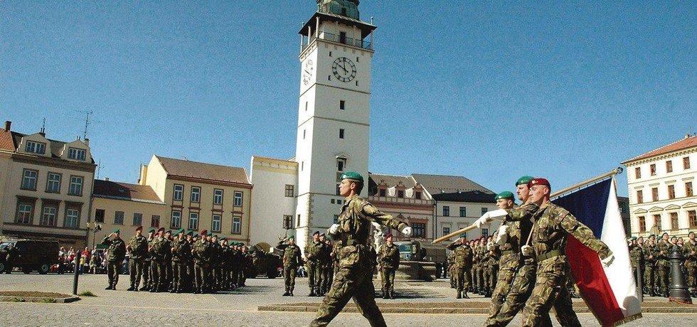 Přísaha vojáků ve Vyškově, ilustrační foto