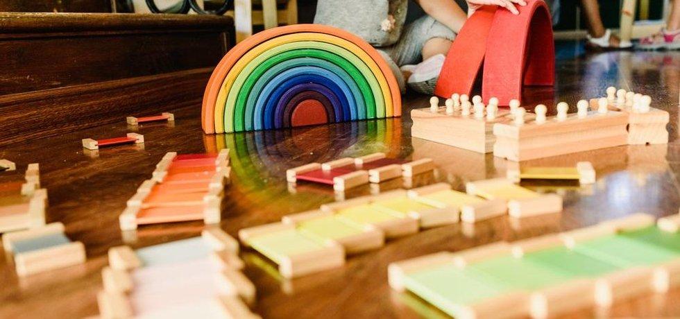 Montessori školka, ilustrační foto