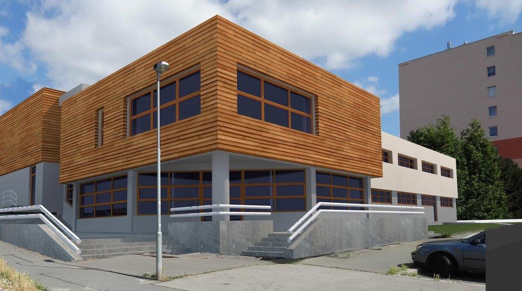 Budova nové školky po rekonstrukci