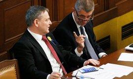 Lubomír Zaorálek a Andrej Babiš