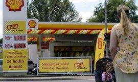 Obchod Stop & Shop, který provozuje Shell spolu s Billou