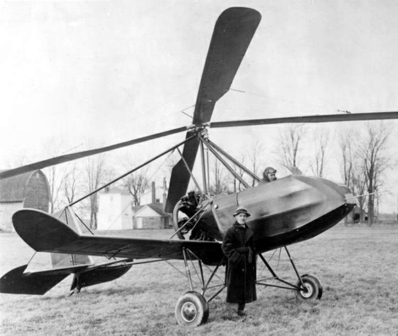 Americký vírník Buhl A-1 v roce 1931.