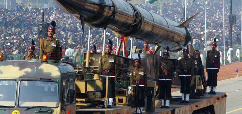 Indická raketa středního doletu Agni-II