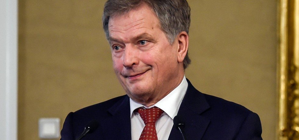 Finský prezident Sauli Niinistö