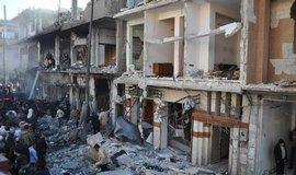město Zahraa, Sýrie,