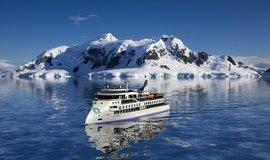 Vizualizace výletní lodi Greg Mortimer