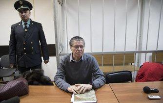 Exministr hospodářství Alexej Uljukajev