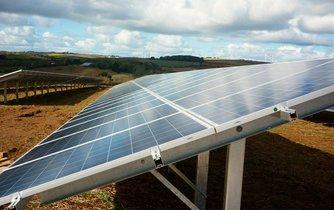 Fotovoltaická elektrárna, ilustrační foto