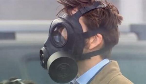 ovzduší, plynová maska,