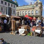 Farmářské trhy na Náměstí Republiky