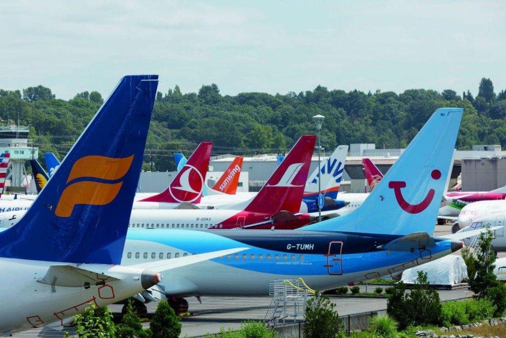 Boeing 737 MAX, ilustrační foto