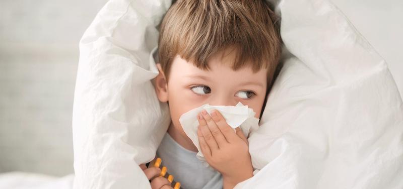 *dítě, nemoc, chřipka