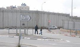 Zeď, která obklopuje Jeruzalém