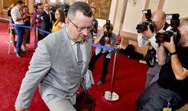 Končící ministr kultury Antonín Staněk (ČSSD)
