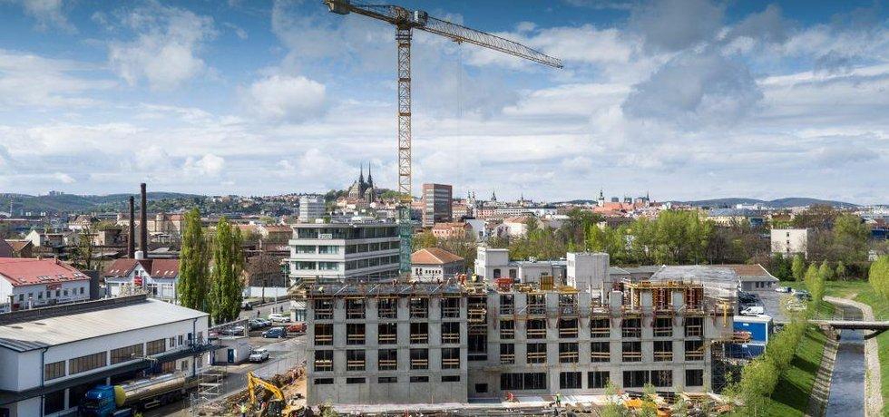 Výstavba v Brně, ilustrační foto