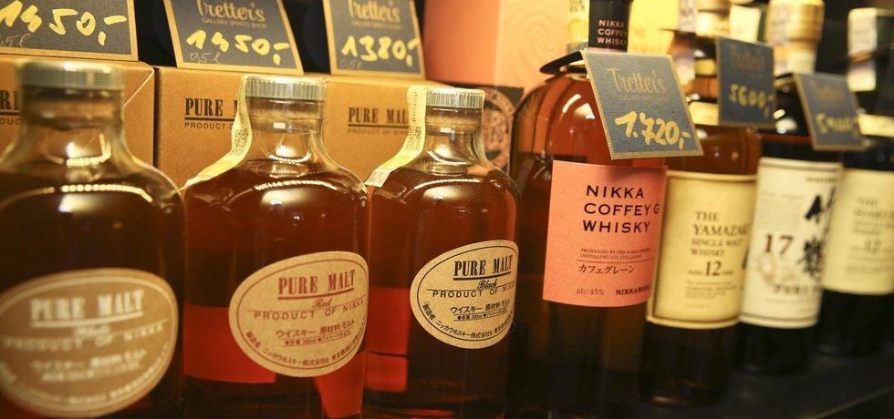 Whisky - ilustrační foto