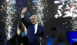 Benjamin Netanjahu míří k pátému premiérskému mandátu