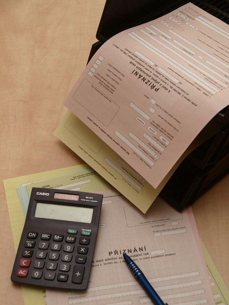 Daňové přiznání (ilustrační foto)