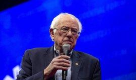 Kandidát na prezidenta USA Bernie Sanders