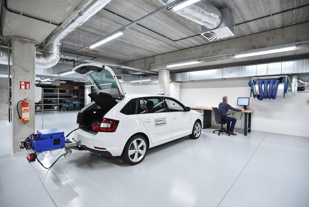 Nová laboratoř Škoda Auto za 402 milionů korun