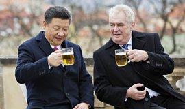 Zeman ujistil Si Ťin-pchinga o respektování politiky jedné Číny. A požádal o další spolupráci