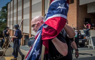 Rasové nepokoje v Charlottesville, ilustrační foto
