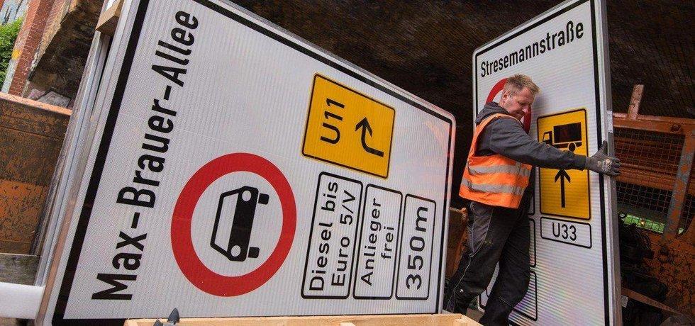 Hamburk se připravuje na zákaz vjezdu starších aut se vznětovými motory